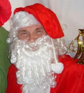 Grampy as Santa