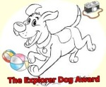 explore dog award