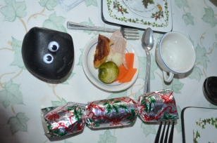 Bashful's christmas dinner