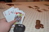 Bashful the card shark