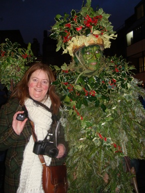 With the Holly Man