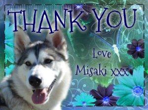 thank you love misaki